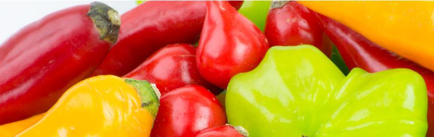 Imagem mix de pimentas em conserva