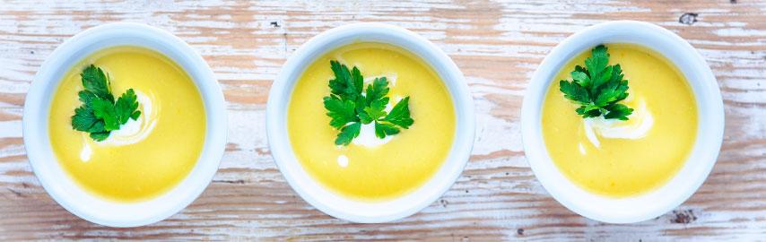 Imagem receita sopa de salsinha cremosa